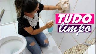 Banheiro Brilhando e Perfumado em Segundos – Receita de Produto de Limpeza