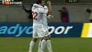 Türkiye 2 Norveç 2 (Hamit Altıntop İkinci Gol)