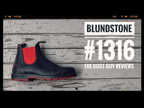 BLUNDSTONE SUPER 550 SERIES no.1316 [ The Boot Guy Reviews ]