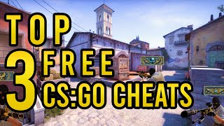 CS:GO HACKS: MY TOP 3 FREE CSGO CHEATS FOR 2020 (UNDETECTED)