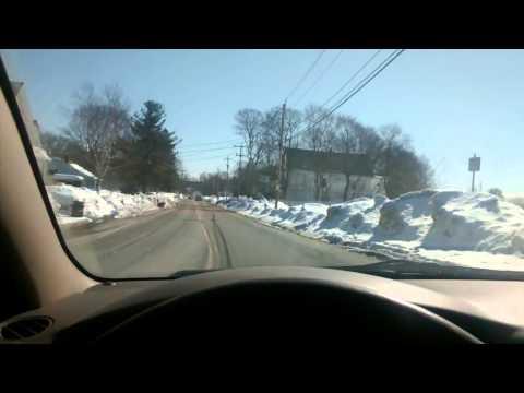 Brockton ma road tour. Winter addition