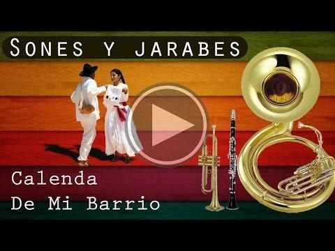 CALENDA DE MI BARRIO | Sones y jarabes | Banda De Música De San Sebastián Betaza