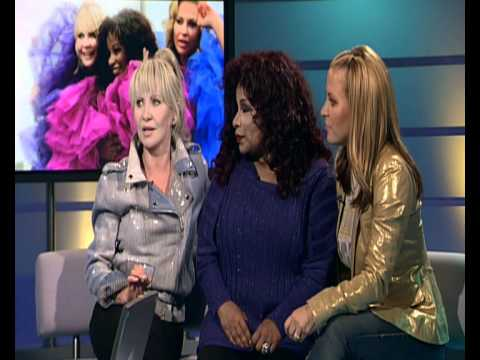 Lulu, Chaka Khan and Anastacia in an interview