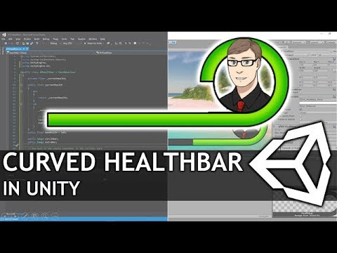 Circular Healthbar in Unity UI Tutorial