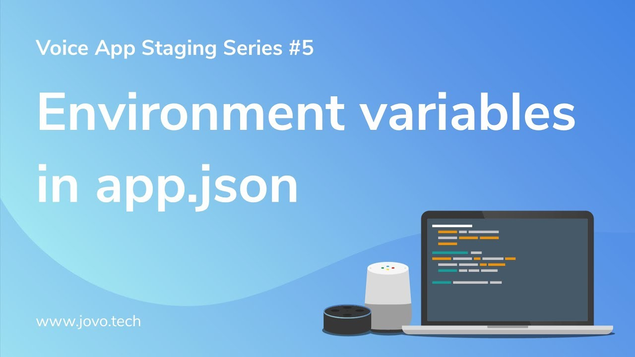 Reference environment variables in your app json with Jovo v1