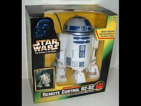 Action- & Spielfiguren HASBRO KENNER STAR WARS POWER OF THE FORCE POTF ELECTRONIC REMOTE CONTROL R2-D2