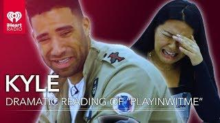 "KYLE Performs Over Dramatic Reading Of ""Playinwitme"" Lyrics"