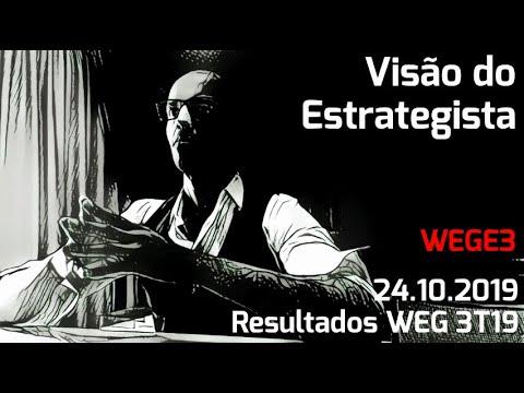 24.10.2019 - Visão do Estrategista - Resultados WEG 3T19 - WEGE3