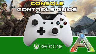 Ark Xbox Controls | Ark Survival Evolved