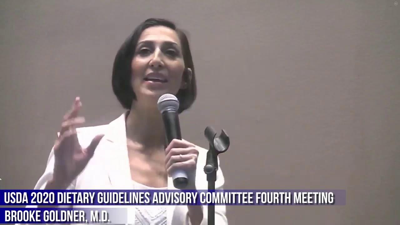 Doctor's POWERFUL HEARTFELT Testimony To USDA Dietary Guidelines 2020