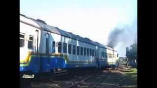 [See !! ] - This locomotive dense smoke - Sancaka Train - Railway Kereta Api