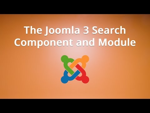 The Joomla 3 Search Component And Module