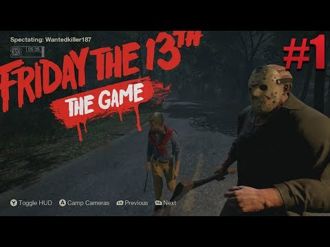Friday the 13th The Game Funny Moments #1 W/ Schultz!!