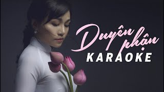 KARAOKE DUYÊN PHẬN (#DP) - HOÀNG CHÂU
