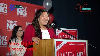 20191021, Liberal Candidate, Mary Ng MP, Victory Party, Toronto, Canada, 加拿大國會議員伍鳳儀