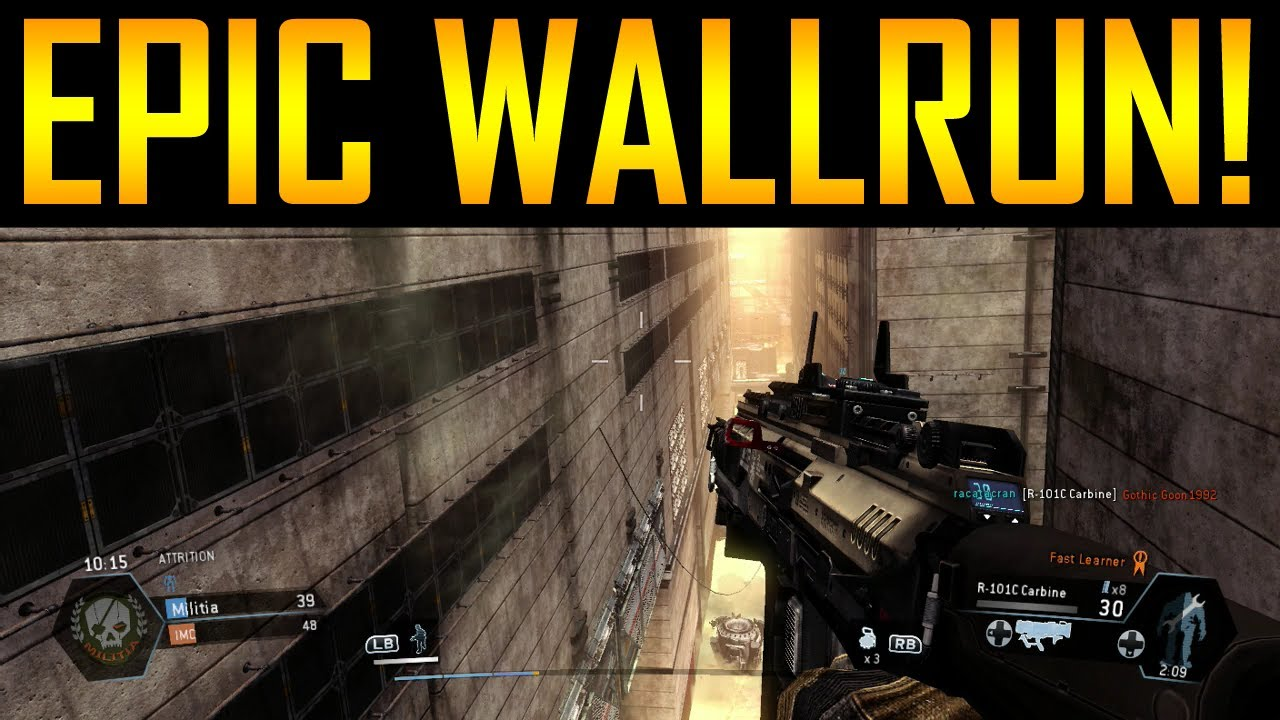 Titanfall Gameplay - Epic Wall Running!