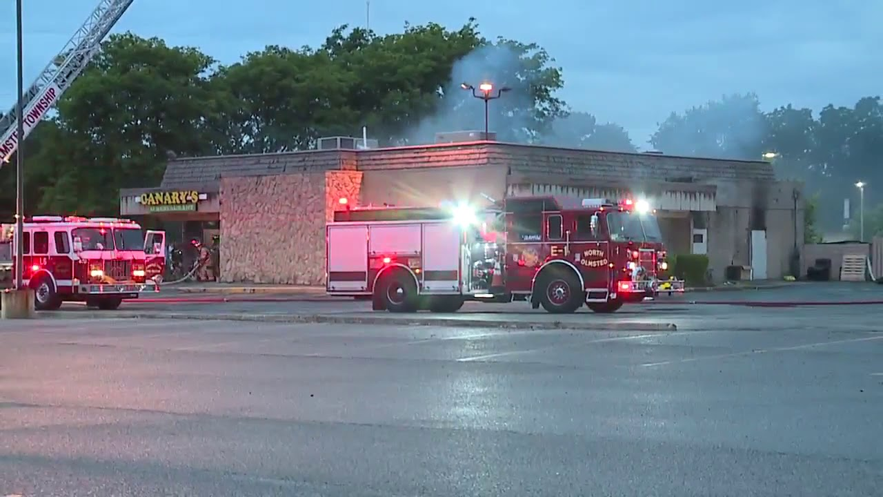 Fire Breaks Out At Canary S Family Restaurant In North Olmsted Causing Extensive Damage