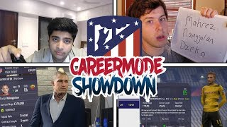 EVERY PLAYER GUESSED?🤔 FIFA 18 CAREER MODE SHOWDOWN!! vs. S2G (Atlético Madrid)