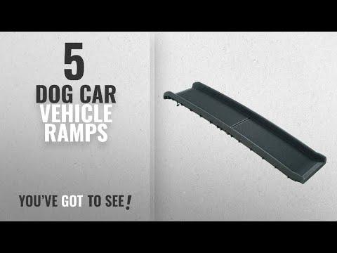 top-10-dog-car-vehicle-ramps-[2018-best-sellers]:-petsafe-solvit-ultralite-bi-fold-pet-ramp,-62-in.,
