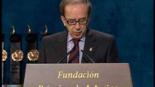 Discurso de Ismaíl Kadaré - Principe de Asturias