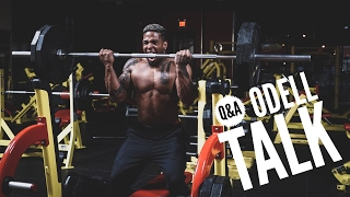 Why Odell and I Don't Talk | Epic 225lb Barbell Curl Attempt| Q&A