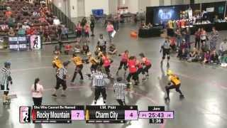 WFTDA Roller Derby: 2014 Division 1 Playoffs, Salt Lake: Charm City vs. Rocky Mountain