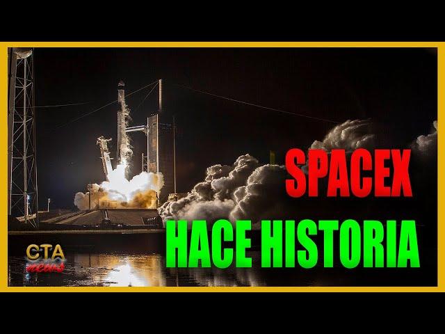 SpaceX hace historia: lanza la nave Crew Dragon con la primera misión de CIVILES al espacio