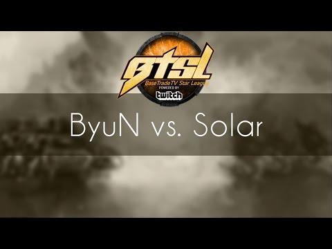 ByuN vs. Solar - TvZ - BaseTradeTV StarLeague January Finals
