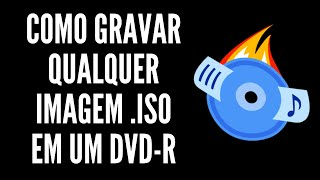 Como Gravar o Windows 7/Windows 8/XP em um DVD-R - [HD][720p]