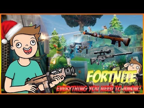 Everything NEW in Fortnite Christmas update! (Fortnite Battle Royale Update + tips) Suppl Gaming