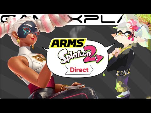 ARMS Direct Discussion - New Characters, Modes, + Splatoon 2 (Nintendo Direct)