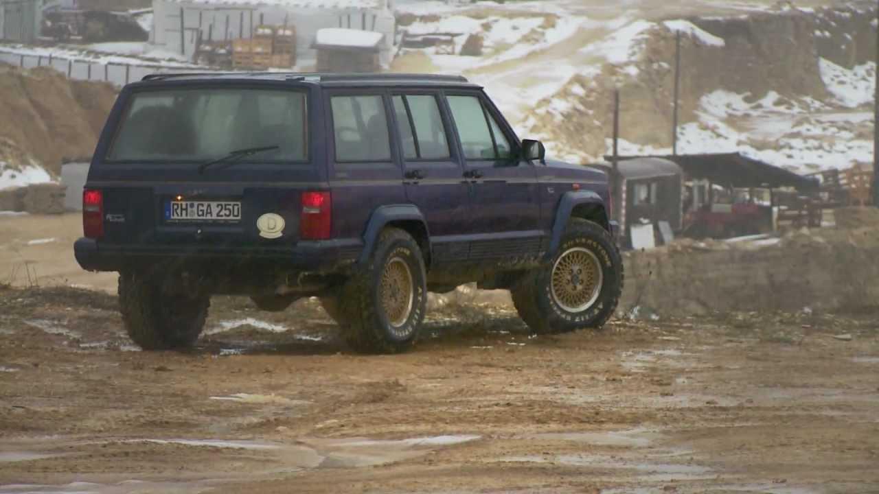 Jeep Cherokee XJ  Offroad Folge 15  YouTube