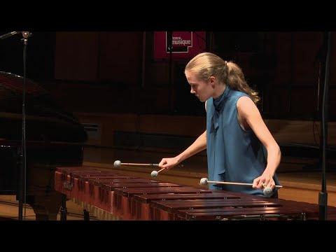 Saint-Saëns : Danse Macabre, transcription pour marimba et piano (Adélaïde Ferrière, Fanny Azzuro)