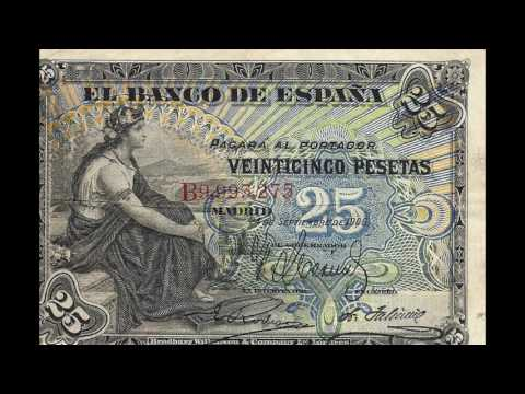Currencies of the World: Principality of Andorra; Spanish Peseta (1906)