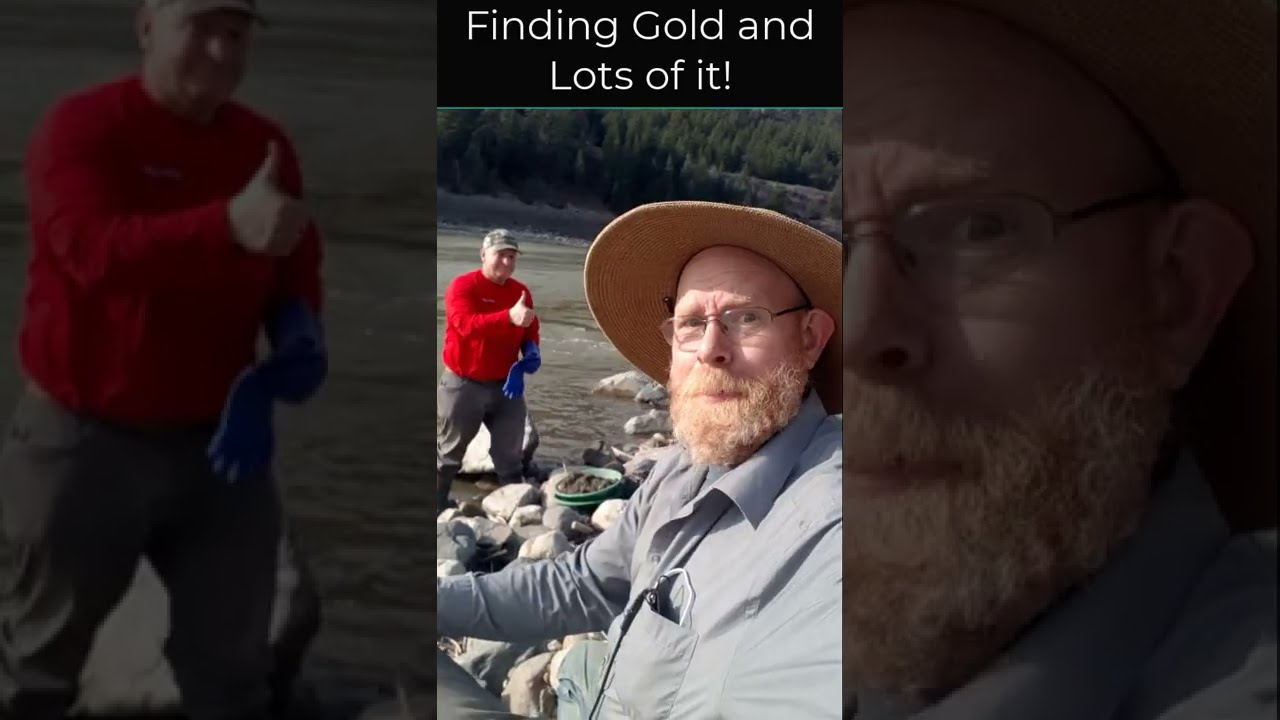 Finding Gold, and lots of it!