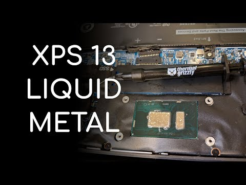 Liquid Metal In Dell XPS 13 - How To, And Is It Worth It?