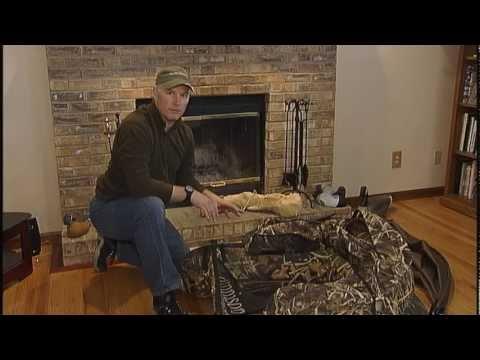 Muskrat Hut Float Tube Duck Blind Youtube