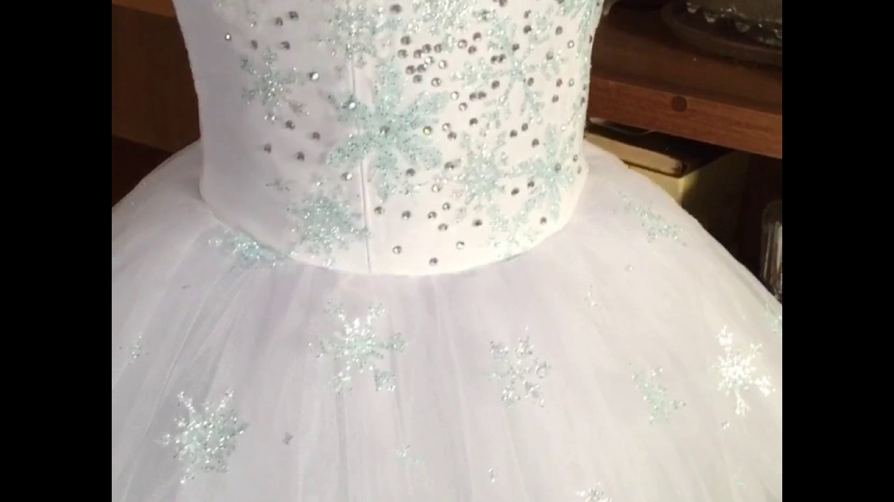 Как сделать платье снежинки на новый год фото 592