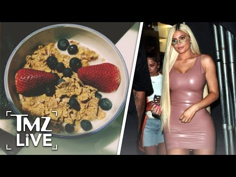 Kylie Jenner: Cereal With Milk Conspiracy | TMZ Live