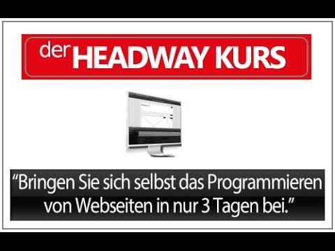 HEADWAY KURS Dimitri Schneider (website, webweite, wordpress, erstellen, programmieren )