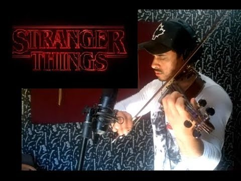 Stranger Things Theme by Douglas Mendes Violin Cover