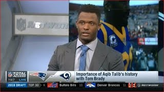 Importance of Aqib Talib's history with Tom Brady | NFL Total Access