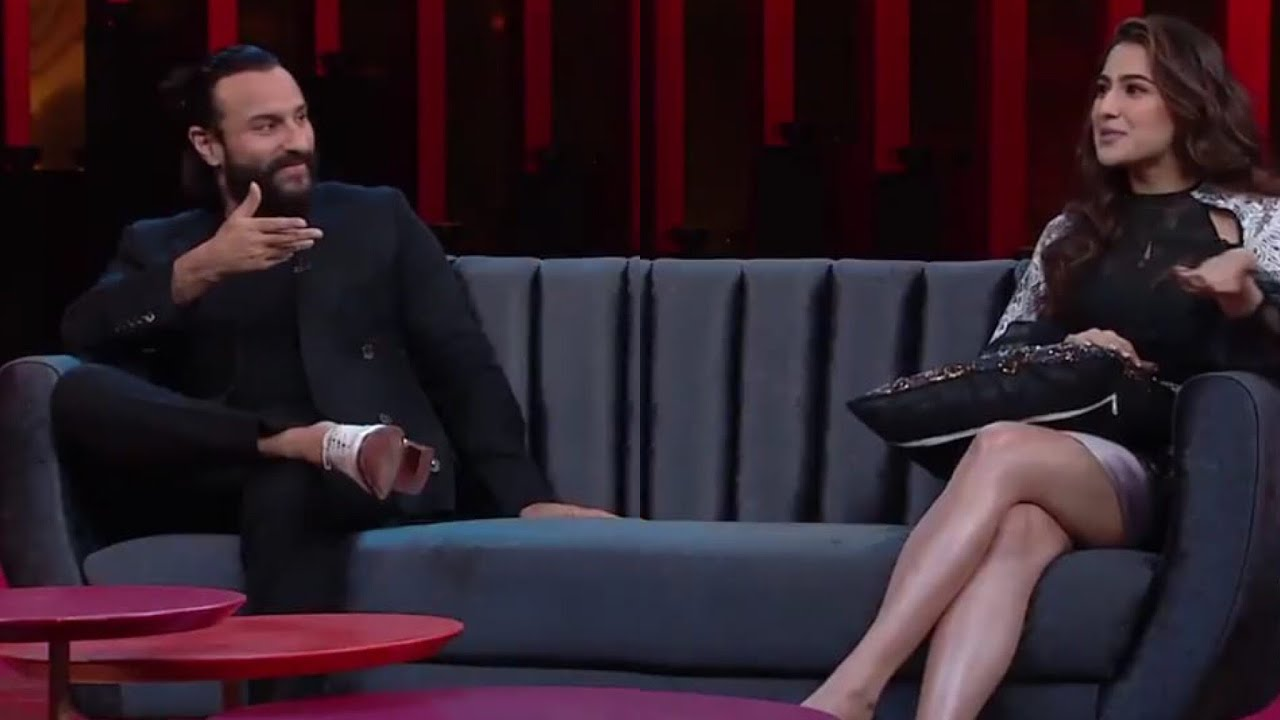KWK6: Saif Ali Khan Discuss Sex Life With Kareena Embarrasses Sara Ali Khan