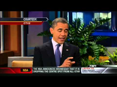 President Obama Comments on the NHL Lockout