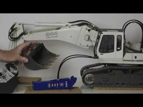 Review of an incredible RC Demolition Hammer ! It really works!