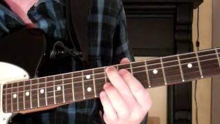 how to play the g13 chord on guitar (g thirteenth) 13th