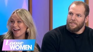 Newlyweds Chloe and James Haskell: Richard Tried to Get Me to Become a Madeley | Loose Women