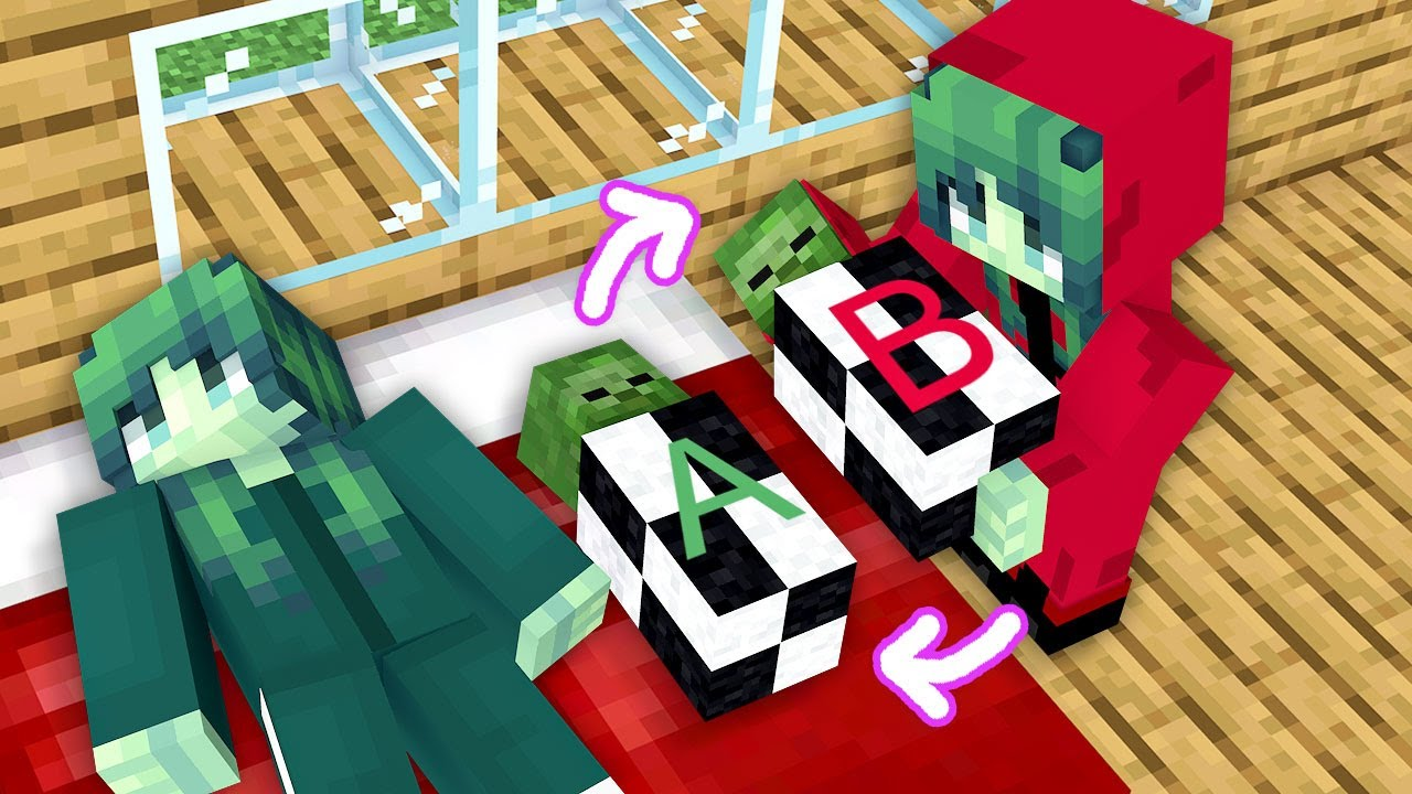 Monster School: Squid Game Baby Born Swapped Exchange Family Sad Story - Minecraft Animation