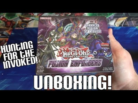 MORE INVOKED CARDS PLZ! | Yugioh Fusion Enforcers 1st Edition Unboxing