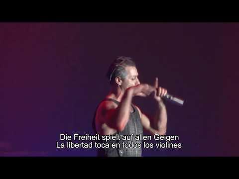 Amerika - Rammstein (Lyrics/Subtitulada al Español)